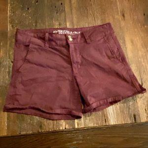 American Eagle 🦅 Twill Midi Shorts, Size 6